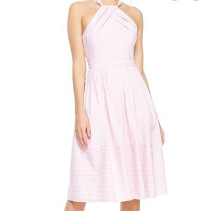 NWT Gal Meets Glam Claire Dress Striped Halter 2